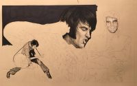 Evis Art in progress by Rob de Vries